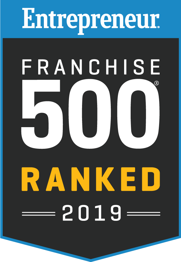 Entrepreneur Franchise 500 Ranked 2019 Logo