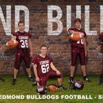 Edmond Bulldogs Football Team Photograph