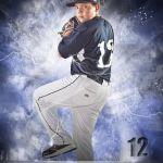 Baseball Pitcher Individual Portrait