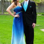 Outdoor Couple Portrait for Prom