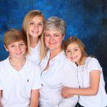 Studio Photograph of Family