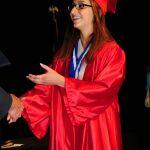 Candid Photo at High School Graduation