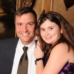 Father and Daughter Portrait at Event